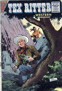 Cover Thumbnail for Tex Ritter Western (Charlton, 1954 series) #30