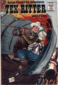 Cover Thumbnail for Tex Ritter Western (Charlton, 1954 series) #33