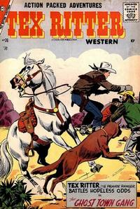 Cover Thumbnail for Tex Ritter Western (Charlton, 1954 series) #36