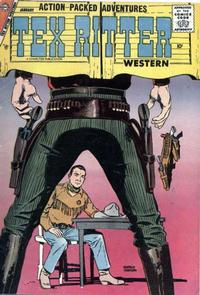 Cover Thumbnail for Tex Ritter Western (Charlton, 1954 series) #39