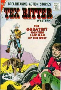 Cover Thumbnail for Tex Ritter Western (Charlton, 1954 series) #40