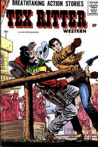 Cover Thumbnail for Tex Ritter Western (Charlton, 1954 series) #41