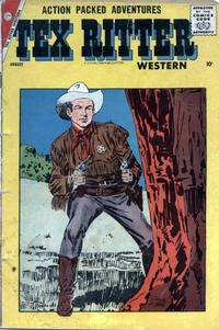 Cover Thumbnail for Tex Ritter Western (Charlton, 1954 series) #42