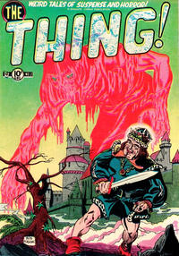 Cover Thumbnail for The Thing (Charlton, 1952 series) #2