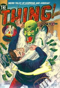 Cover Thumbnail for The Thing (Charlton, 1952 series) #3