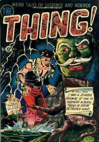 Cover Thumbnail for The Thing (Charlton, 1952 series) #4