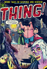Cover Thumbnail for The Thing (Charlton, 1952 series) #5