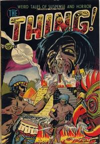 Cover Thumbnail for The Thing (Charlton, 1952 series) #6