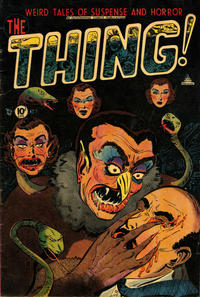 Cover Thumbnail for The Thing (Charlton, 1952 series) #7