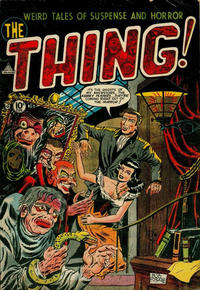 Cover Thumbnail for The Thing (Charlton, 1952 series) #8