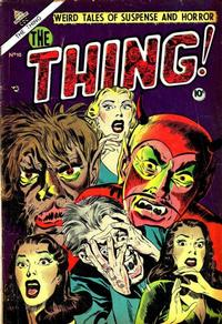 Cover Thumbnail for The Thing (Charlton, 1952 series) #10