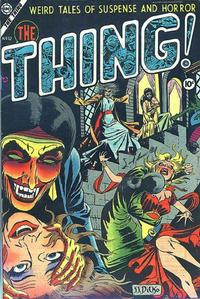 Cover Thumbnail for The Thing (Charlton, 1952 series) #12