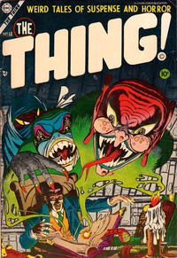 Cover Thumbnail for The Thing (Charlton, 1952 series) #13
