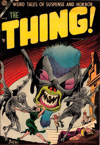 Cover Thumbnail for The Thing (Charlton, 1952 series) #14