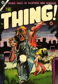 Cover Thumbnail for The Thing (Charlton, 1952 series) #16
