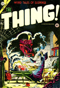 Cover Thumbnail for The Thing (Charlton, 1952 series) #17