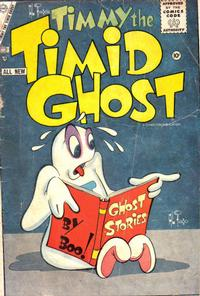 Cover Thumbnail for Timmy the Timid Ghost (Charlton, 1956 series) #3