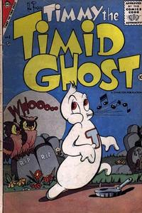 Cover Thumbnail for Timmy the Timid Ghost (Charlton, 1956 series) #4