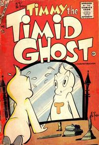 Cover Thumbnail for Timmy the Timid Ghost (Charlton, 1956 series) #5