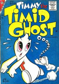 Cover Thumbnail for Timmy the Timid Ghost (Charlton, 1956 series) #6