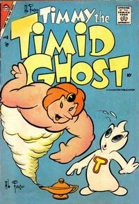 Cover Thumbnail for Timmy the Timid Ghost (Charlton, 1956 series) #8