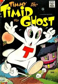 Cover Thumbnail for Timmy the Timid Ghost (Charlton, 1956 series) #9