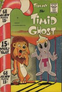 Cover Thumbnail for Timmy the Timid Ghost (Charlton, 1956 series) #10