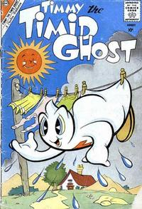 Cover Thumbnail for Timmy the Timid Ghost (Charlton, 1956 series) #22