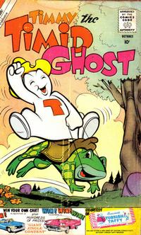 Cover Thumbnail for Timmy the Timid Ghost (Charlton, 1956 series) #23