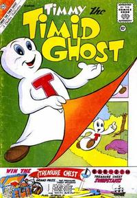 Cover Thumbnail for Timmy the Timid Ghost (Charlton, 1956 series) #25