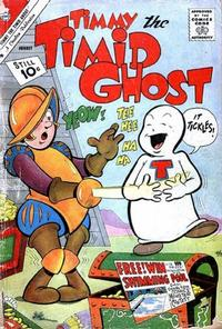 Cover Thumbnail for Timmy the Timid Ghost (Charlton, 1956 series) #28
