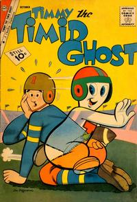 Cover Thumbnail for Timmy the Timid Ghost (Charlton, 1956 series) #29