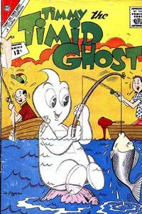 Cover Thumbnail for Timmy the Timid Ghost (Charlton, 1956 series) #33