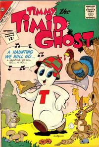 Cover Thumbnail for Timmy the Timid Ghost (Charlton, 1956 series) #34