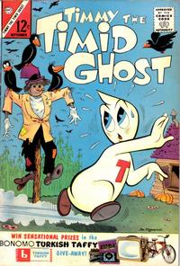Cover Thumbnail for Timmy the Timid Ghost (Charlton, 1956 series) #40