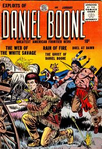 Cover for Exploits of Daniel Boone (Quality Comics, 1955 series) #2