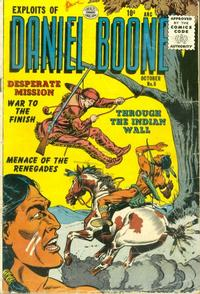 Cover Thumbnail for Exploits of Daniel Boone (Quality Comics, 1955 series) #6