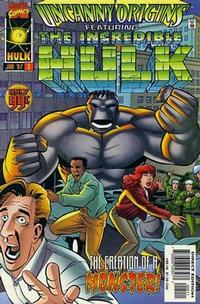 Cover Thumbnail for Uncanny Origins (Marvel, 1996 series) #5