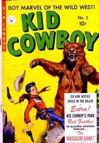Cover Thumbnail for Kid Cowboy (Ziff-Davis, 1950 series) #2