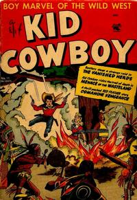 Cover Thumbnail for Kid Cowboy (St. John, 1953 series) #11
