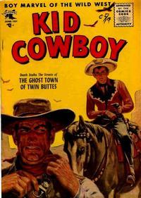 Cover Thumbnail for Kid Cowboy (St. John, 1953 series) #14