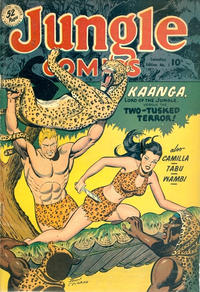 Cover Thumbnail for Jungle Comics (Publications Services Limited, 1949 series) #1