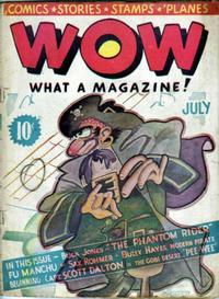 Cover Thumbnail for Wow — What a Magazine! (Henle Publications, 1936 series) #1