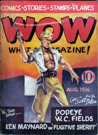 Cover Thumbnail for Wow — What a Magazine! (Henle Publications, 1936 series) #2