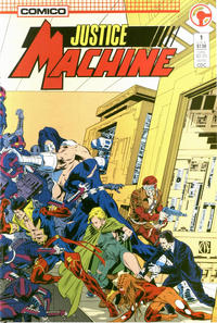 Cover Thumbnail for Justice Machine (Comico, 1987 series) #1