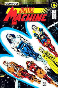 Cover Thumbnail for Justice Machine (Comico, 1987 series) #2