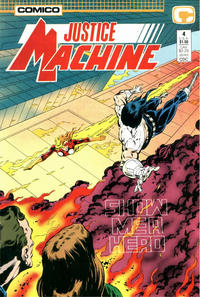 Cover Thumbnail for Justice Machine (Comico, 1987 series) #4