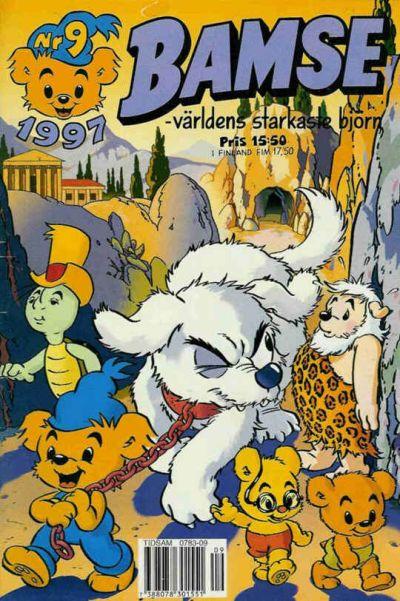 Cover for Bamse (Egmont, 1997 series) #9/1997