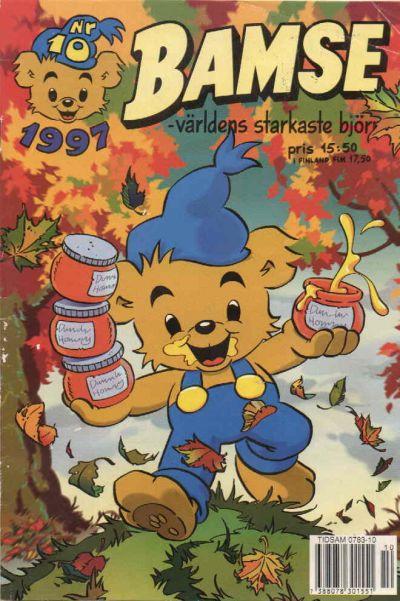 Cover for Bamse (Egmont, 1997 series) #10/1997
