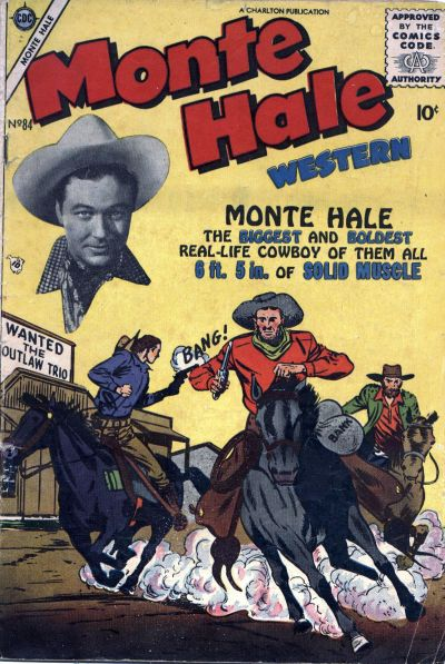 Cover for Monte Hale Western (Charlton, 1955 series) #84
